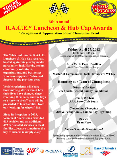RACE 2012 You're Invited