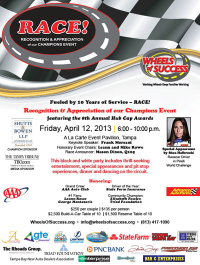 RACE 2013 - You're Invited