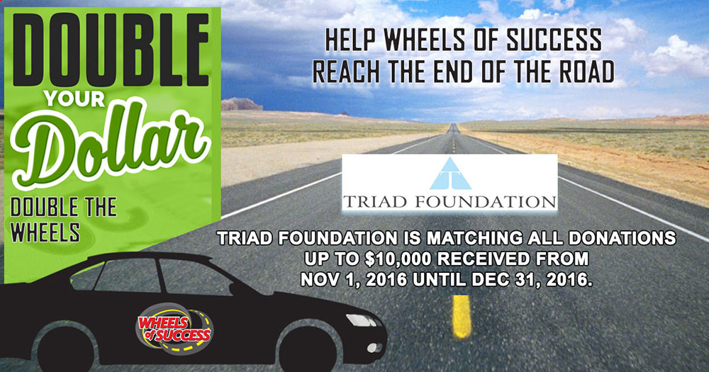 Triad Matching Grant